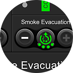reduce smoke evacuation level image
